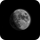 """My Just for """"FUN"""" First Attempt at a HDR Moon,                                Stuart Rawson"""
