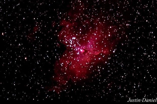 M16 Eagle Nebula,                                Justin Daniel