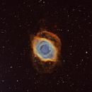 Planetary nebula: The Helix in narrowbands,                                David Nguyen