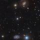 Eons of Silence ( NGC4151 and NGC 4145 ),                                Reza Hakimi
