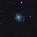 Pinwheel galaxy M101,                                Tibor Varga