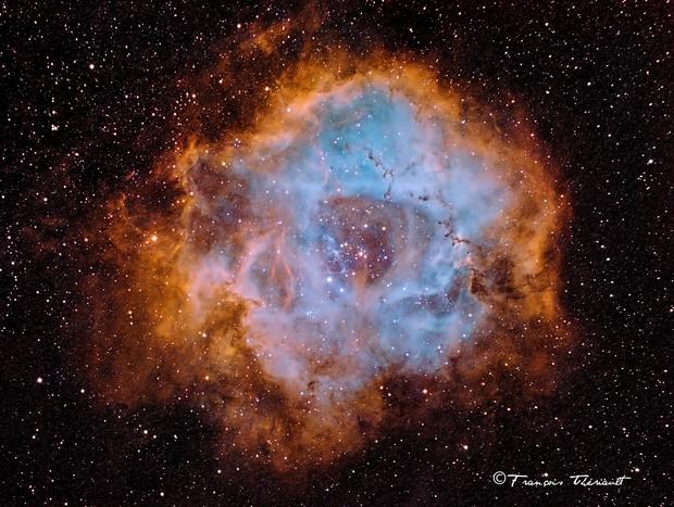 NGC 2244 Rosette Nebula in Monoceros,                                Francois Theriault