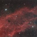 NGC 1499 - The California Nebula,                                James Basile