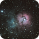 M20 Trifid Nebula,                                Adam Bailey