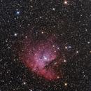 Packman nebula,                                DarkSky