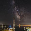Milky Way over Mackinac Island Harbor,                                Jason Guenzel