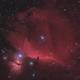 IC434 Horsehead Nebula, LRGBHa,                                MIRX