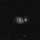 M51 Whirlpool Galaxy,                                Ryan Betts
