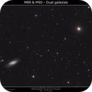 M89 & M90 Galaxies duo,                                Brice Blanc
