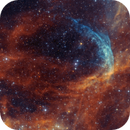 WR134 in Cygnus-  another blue dolphin - SHO-RGB,                                  Arnaud Peel