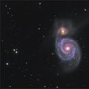 M51 Ha-RGB,                                  sky-watcher (johny)