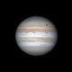 Giove 4 maggio 2017, ore 23:39 (elaborazione con Pixinsight),                                Giuseppe Nicosia