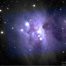 Running Man - NGC1977 - Couleur,                                BLANCHARD Jordan
