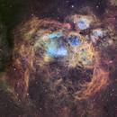 NGC6357 - War and Peace Nebula,                                Magellan_Team