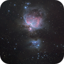 M42&M43 in 12minutes with my new color cam,                                MicRaWi
