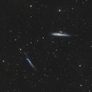 NGC4631 & NGC4656,                                David Cheng