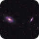 M81 and M82 (Bode's and Cigar Galaxies in Ursa Major),                                Mike_Stutters