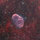 NGC 6888 Crescent Nebula in HaOIIIRGB,                                Bernhard Zimmermann