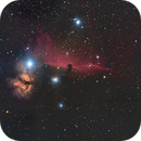 IC434 - The Horsehead and Flame Nebula,                                Andrew Genualdi