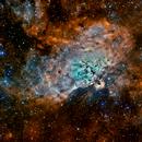 Eagle Nebula, M16, Sh2-49,                                Alastairmk