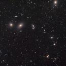 Markarian's Chain, with M87,                                SoundIdea