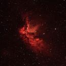 The Wizard Nebula NGC7380,                                Busmansteve