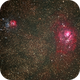 Lagoon and Trifid Nebulae,                                Manuel