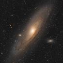 M 31 The Andromeda Galaxy in LRGBHa Rework,                                Stefan-Harry-Thrun