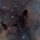 Bernard 161 - Dark nebula in Cepheus,                                Ola Skarpen SkyEyE