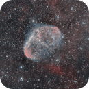 Crescent nebula (NGC 6888),                                Serkan Boydağ