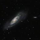 M106 intermediate spiral galaxy,                                Roger Menard