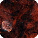 Crescent and Soap Bubble Nebulas (NGC 6888),                                Luca Marinelli