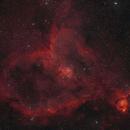 Heart Nebula IC 1805,                                Alan Taylor