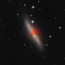 Messier 82,                                Régis Le Bihan