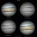 One Jupiter, three wavelengths!,                                 Astroavani - Avani Soares