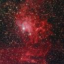 SH2-229 (IC405) Flaming Star Nebula,                                Almos Balasi