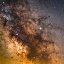 Milky way and Jupiter,                                  Joshua July