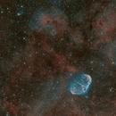 NGC6888. PN G75.5 1.7   Soap Bubble and Crescent Nebula,                                litobrit