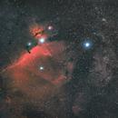 Orion's Belt (DSLR, Bortle 8),                                Jeffrey Horne