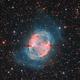 M27 Dumbbell Nebula HORGB,                                Alberto Pisabarro