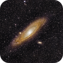 M31 First Light First Night and First time processing,                                string