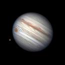 Jupiter et Ganymède,                                  MAILLARD