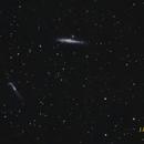 NGC 4631 (Baleine) + NGC 4656/7 (Hockey),                                jpettit
