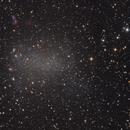Barnard's Galaxy - NGC 6822,                    Jim Morse