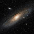 M31 Andromeda Galaxy,                                nicolabugin