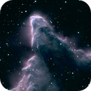 IC 63 - Ghost Nebula   HA/RGB,                                  Jim Matzger
