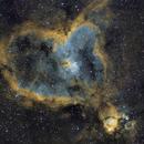 IC1805 - Heart nebula in SHO,                                Ricardo Tortosa
