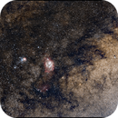 Lagoon and Trifid Nebulas,                                TC_Fenua