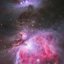 M42  Orion Nebula,                                  Yusuke Satou