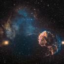 The Jellyfish Nebula IC 443 and Sharpless 249, SHO,                                Panagiotis Andreou
